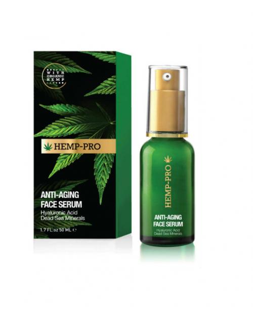 HEMP-PRO Age-Defying Face Serum 30 ml -- UAB ESTELĖ