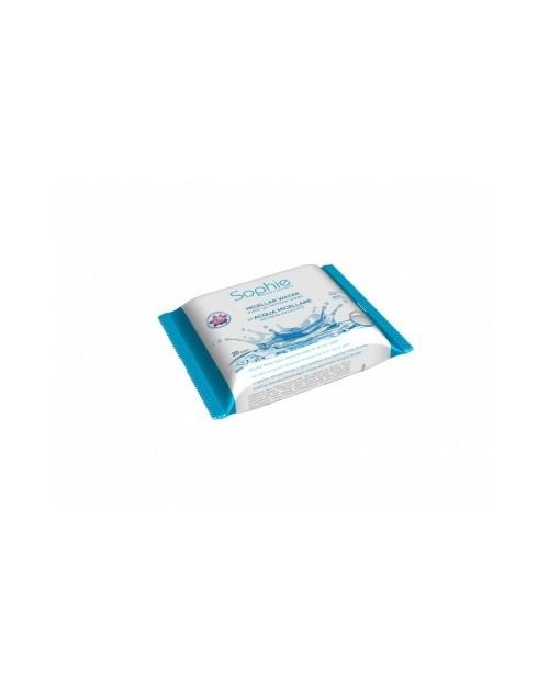 Drėgnos servetėlės su miceliniu vandeniu makiažui valyti 20 vnt. -- UAB ESTELĖ