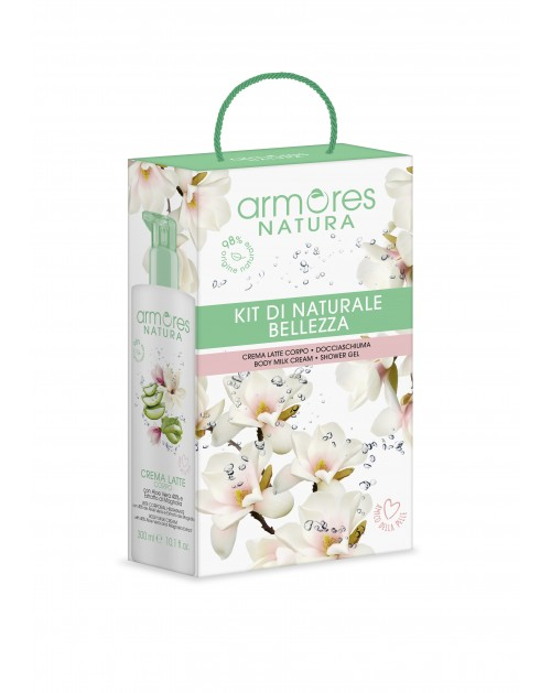 ARMORES NATURA body care kit 600 ml -- UAB ESTELĖ