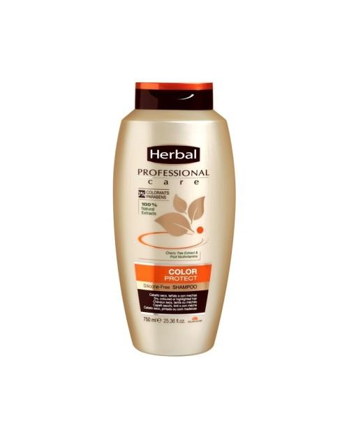 HERBAL profesionalus šampūnas dažytiems plaukams 750 ml -- UAB ESTELĖ