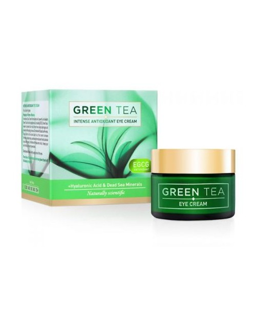 GREEN TEA intensīvs antioksidantu acu krēms, 30 ml -- UAB ESTELĖ