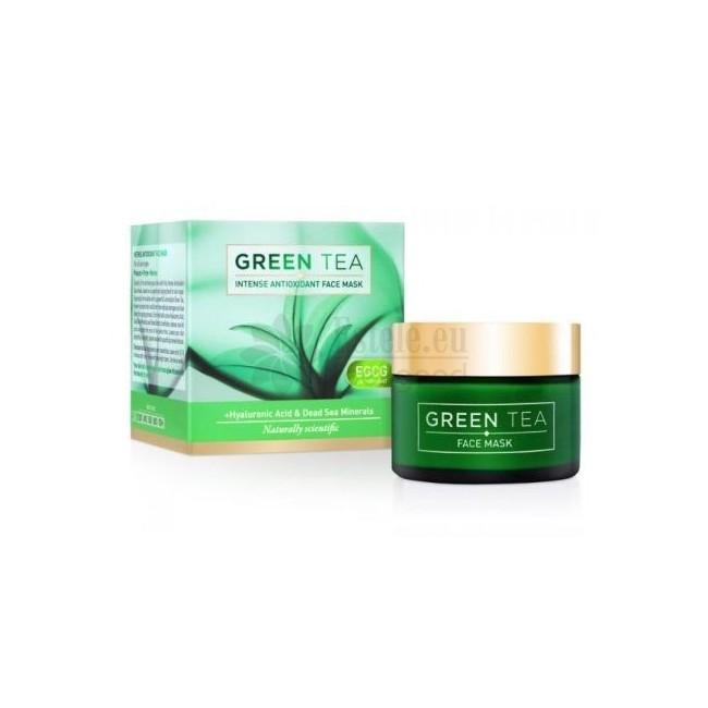 GREEN TEA intensīva antioksidanta sejas maska, 50 ml -- UAB ESTELĖ