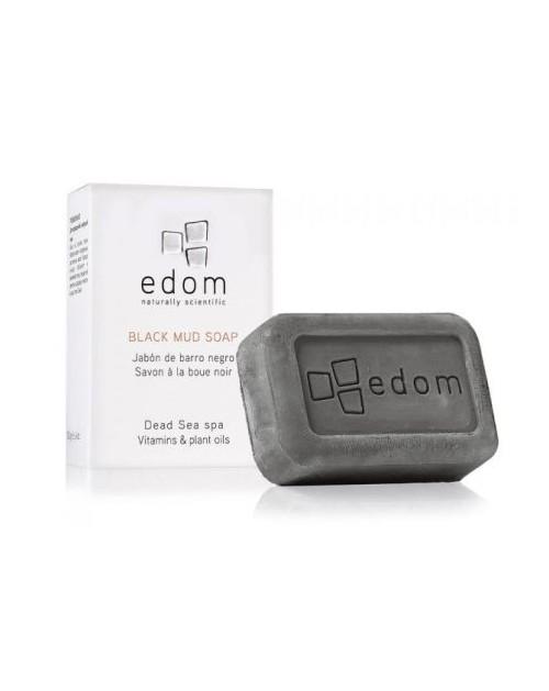 EDOM melnās dubļu ziepes normālai un taukainai ādai 100 gr -- UAB ESTELĖ